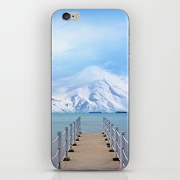 Meet me in the middle iPhone Skin