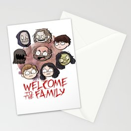 Welcome to the Family Stationery Cards