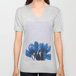 Blue Plant Unisex V-Neck