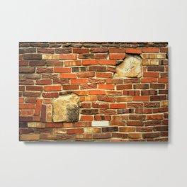 brickwall Metal Print