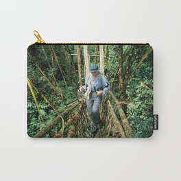 Vine Bridge of Death: Papua New Guinea Carry-All Pouch