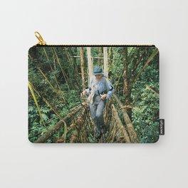 Vine Bridge of Death: Papua New Guinea Carry-All Pouch