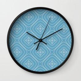 Reina floral ripples Wall Clock
