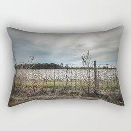 Florida Cotton Fields  Rectangular Pillow
