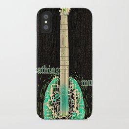 Breathing music iPhone Case