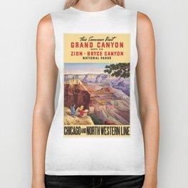 Vintage poster - Grand Canyon Biker Tank