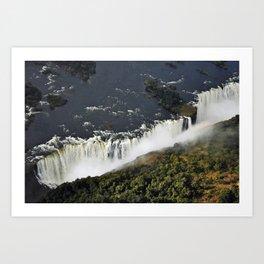 Victoria Falls. Art Print