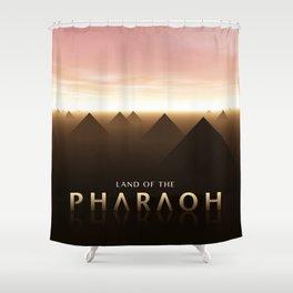 Land of The Pharaoh Shower Curtain