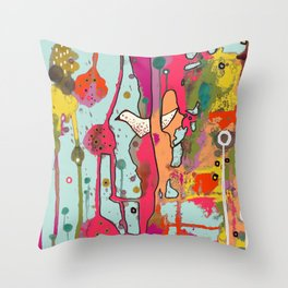 une chanson Throw Pillow