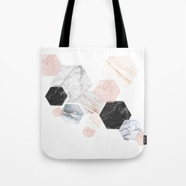 Lost in Marble Tote Bag