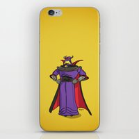 toy story iPhone & iPod Skins featuring Toy Story | Emperor Zurg by Brave Tiger Designs