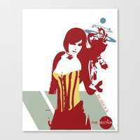 bioshock Canvas Prints featuring Bioshock - Liz. by The_Section