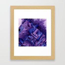 mandelbrot  structures Framed Art Print