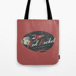 Red Rocket (Distressed) Tote Bag