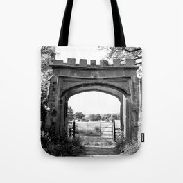 Forest Ruins Tote Bag