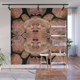 Political Toxic Waste Wall Mural