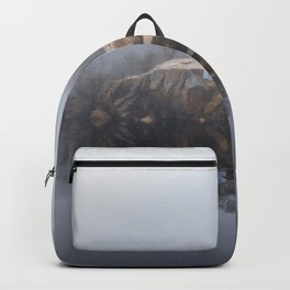 Foggy morning at the Quarry Backpack
