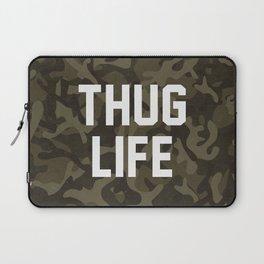 Thug Life - camouflage version Laptop Sleeve