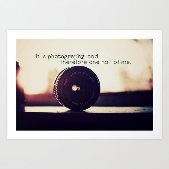 Photographer's Tool  Art Print