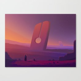 PHAZED PixelArt 7 Canvas Print