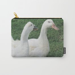 Gossiping Duckies Carry-All Pouch