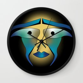 Face with no Face Wall Clock