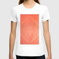 wooden T-shirts featuring Wooden Rhombus by Margheritta
