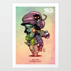 Z Gang - Rat King - Villains of G universe Art Print