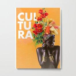 Mi Cultura Metal Print
