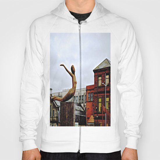 She Flies Across Belfast Hoody