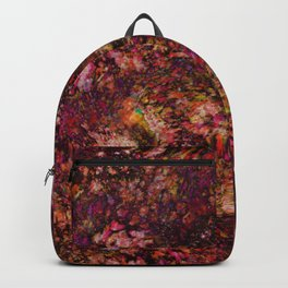 Red Galaxy Backpack