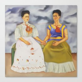 The Two Fridas Canvas Print