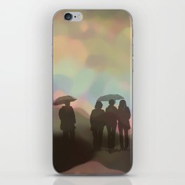 On a rainy day iPhone Skin