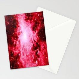 Red Orion Nebula Stationery Cards