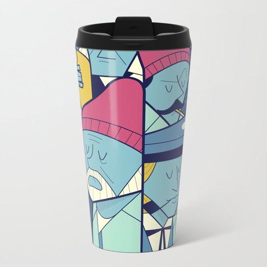 Acquatic Life Metal Travel Mug
