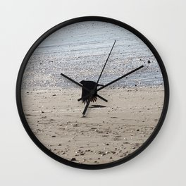 Flying low Wall Clock