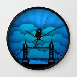 Tardis London Bridge Wall Clock