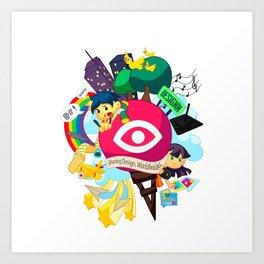 Designn Illustrated Art Print