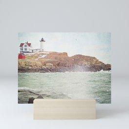 Cape Neddick Lighthouse Mini Art Print
