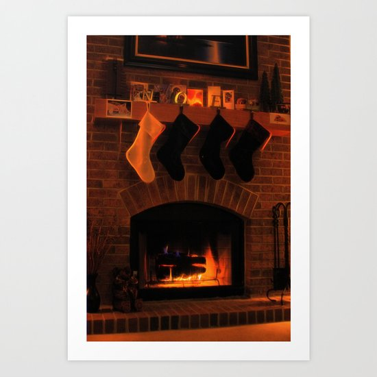 Twas the Night Before... Art Print