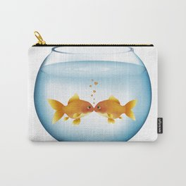 Love in the Fishbowl Carry-All Pouch