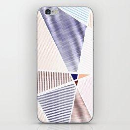 Striped in colors iPhone Skin
