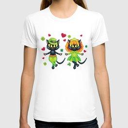 Irish dancing cats T-shirt