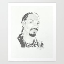 The Doggfather Art Print