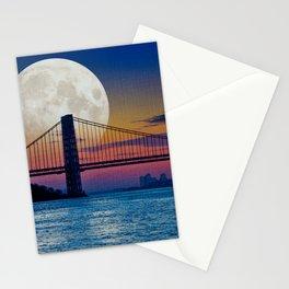 Moon over Harlem Stationery Cards