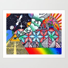 Dmt Art Prints | Society6