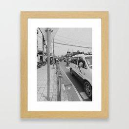 Streets #3 Framed Art Print