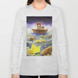 Floating stars Long Sleeve T-shirt
