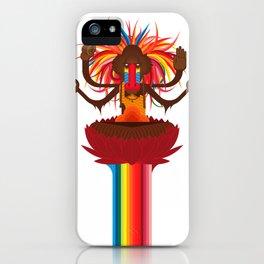 Mono Nublado iPhone Case