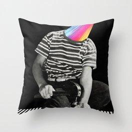 Cosa è successo alla tua testa? Throw Pillow